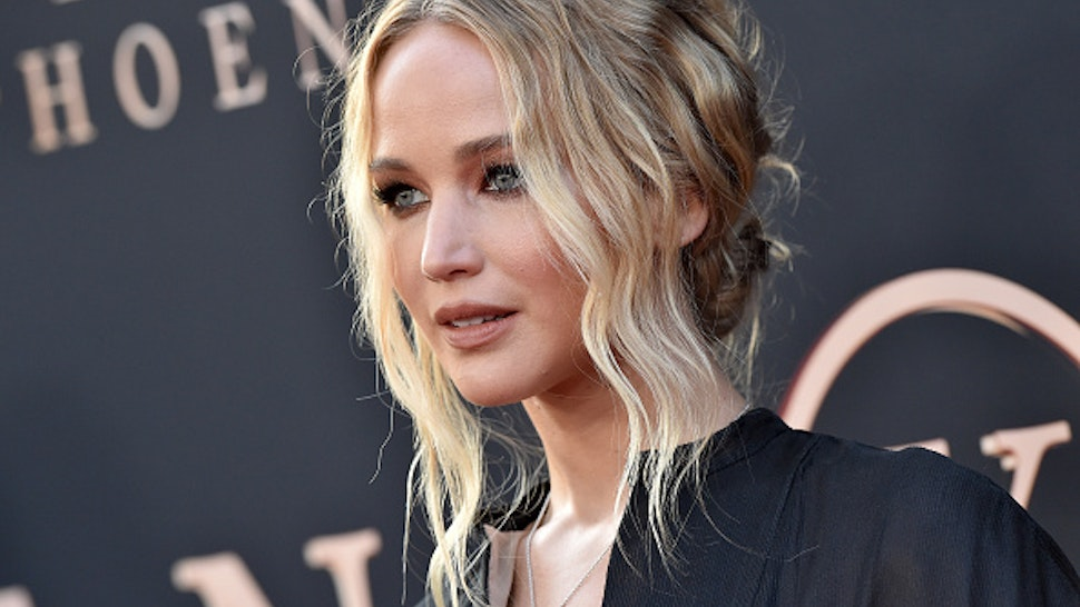 "HOLLYWOOD, CALIFORNIA - JUNE 04: Jennifer Lawrence attends the premiere of 20th Century Fox's ""Dark Phoenix"" at TCL Chinese Theatre on June 04, 2019 in Hollywood, California."