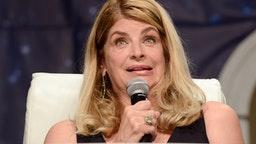 LAS VEGAS, NV - AUGUST 05: Actress Kirstie Alley on day 3 of Creation Entertainment's Official Star Trek 50th Anniversary Convention at the Rio Hotel & Casino on August 5, 2016 in Las Vegas, Nevada.