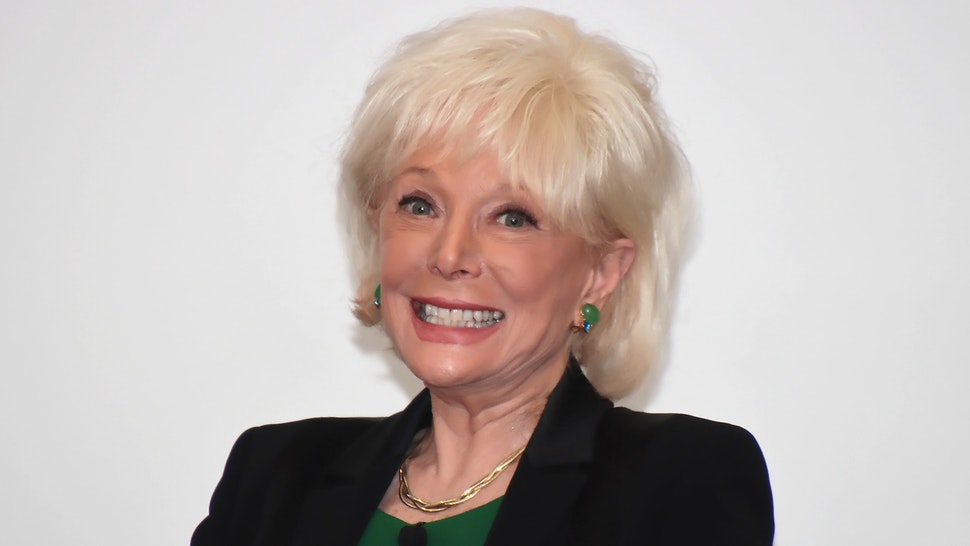 """VINELAND, NJ - FEBRUARY 13: Keynote speaker Lesley Stahl, co-editor of CBS 60 Minutes, is interviewed during the luncheon at the 2020 """"Working Together For Working Families Conference held at Luciano Conference"""" Center at Cumberland County College on February 13, 2020 in Vineland, New Jersey."""