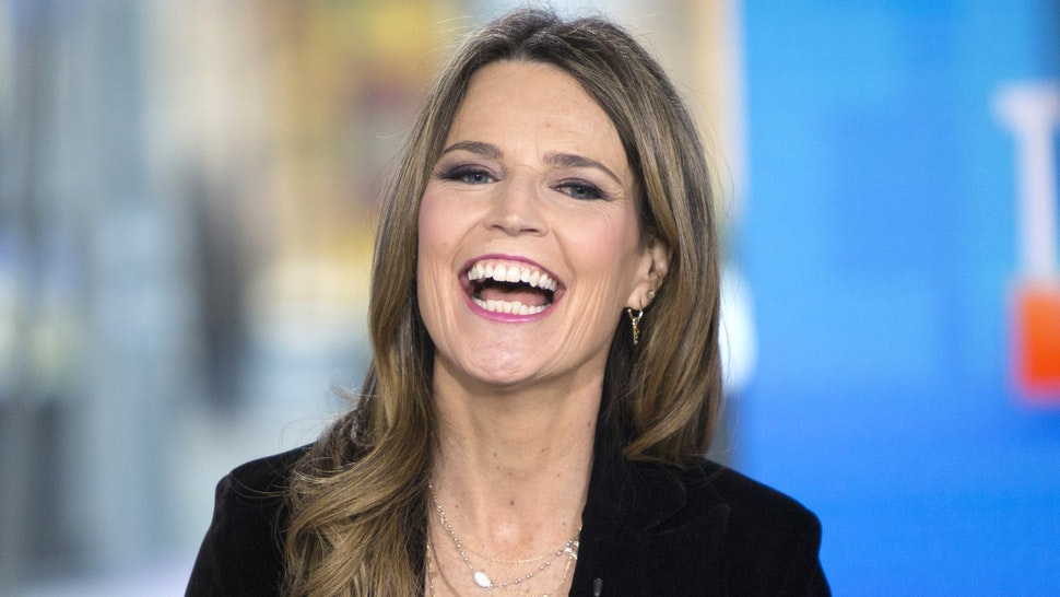 TODAY -- Pictured: Savannah Guthrie on Tuesday Jan. 9, 2018