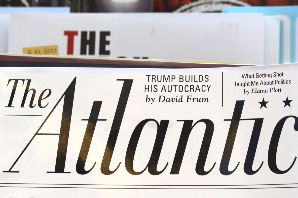 The Atlantic Forced To Issue Major Correction To Report After Admitting Author 'Deceived' Readers | The Daily Wire