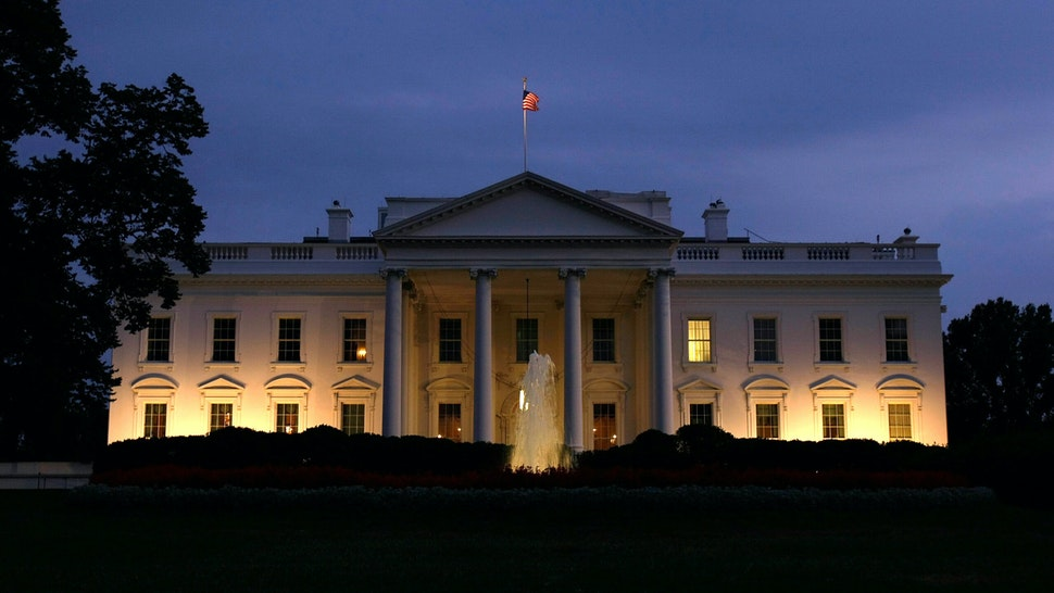 WASHINGTON - SEPTEMBER 13: An exterior view of the White House is shown September 13, 2007 in Washington, DC. U.S. President George W. Bush addressed the nation this evening in a prime time speech on the status of the Iraq war.