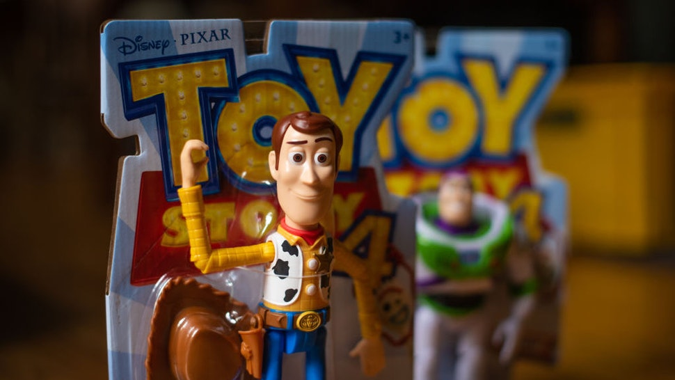 A Mattel Inc. Toy Story Woody brand figurine is arranged for a photograph in Atlanta, Georgia, U.S., on Friday, July 19, 2019. Mattel is scheduled to release earnings figures on July 25. Photographer: Tiffany Hagler-Geard/Bloomberg