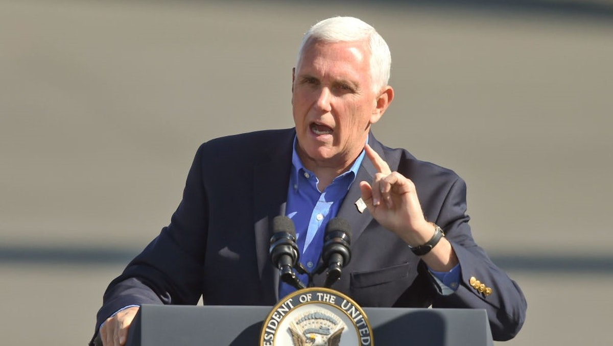 Pence To Keep Up Campaign Travel; Members Of Staff Have Contracted Virus | The Daily Wire