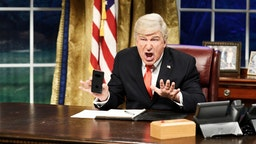 "SATURDAY NIGHT LIVE -- ""Sandra Oh"" Episode 1762 -- Pictured: Alec Baldwin as Donald Trump during the ""Mueller Report"" Cold Open on Saturday, March 30, 2019 -- (Photo by:"