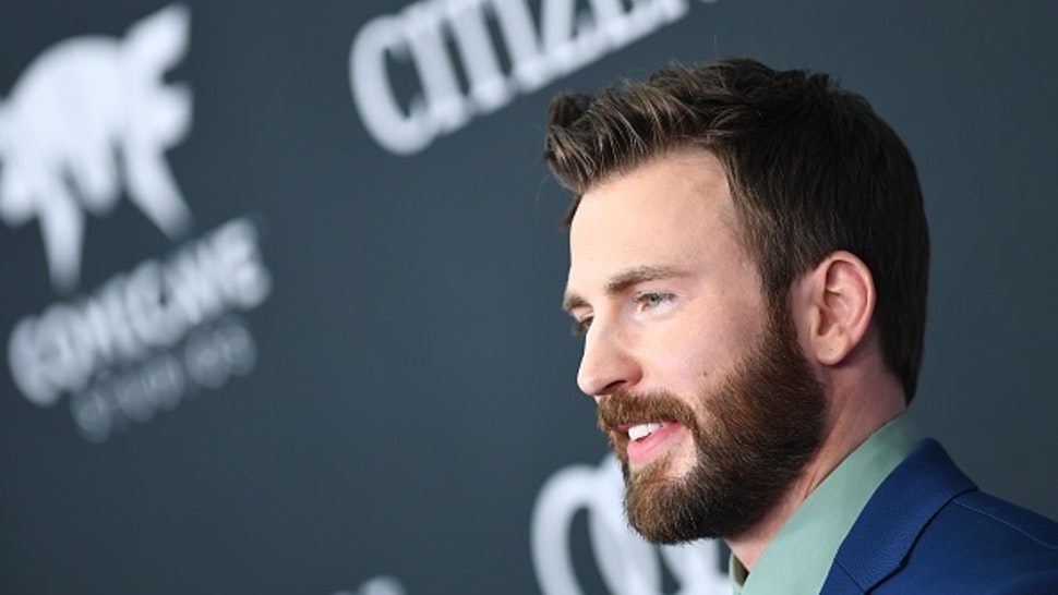 """US actor Chris Evans arrives for the World premiere of Marvel Studios' """"Avengers: Endgame"""" at the Los Angeles Convention Center on April 22, 2019 in Los Angeles."""