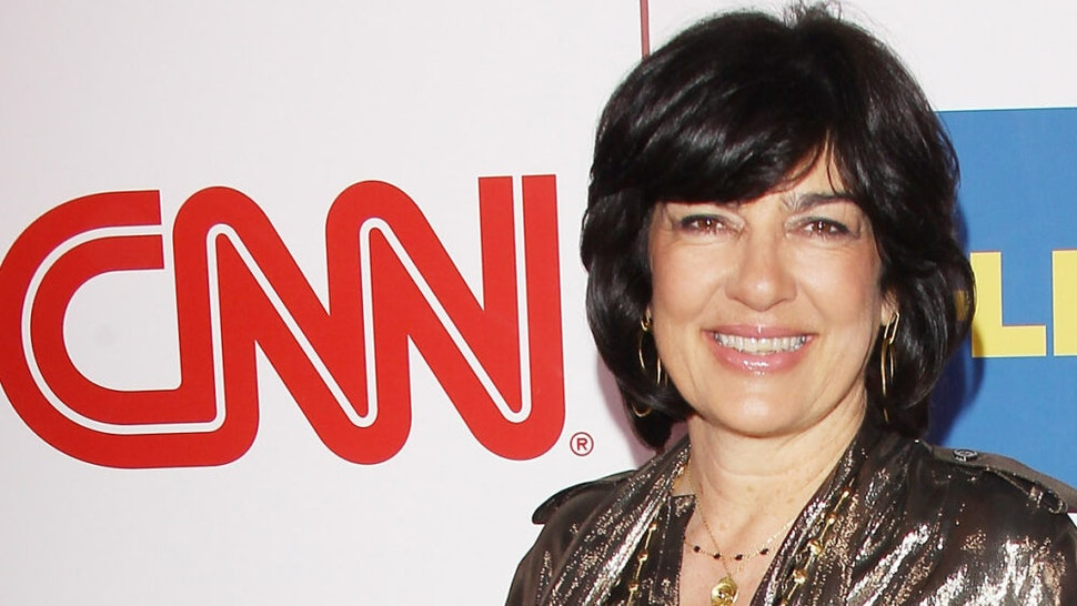 PASADENA, CA - JANUARY 10: Christiane Amanpour arrives at the CNN Worldwide All-Star 2014 Winter TCA party held at Langham Huntington Hotel on January 10, 2014 in Pasadena, California.