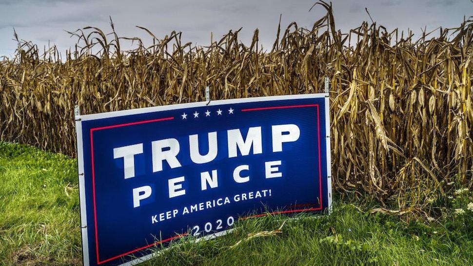 Trump sign Wisconsin