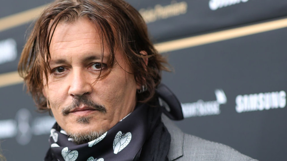 """Johnny Depp attends the """"Crock of Gold: A few Rounds with Shane McGowan"""" premiere during the 16th Zurich Film Festival at Kino Corso on October 02, 2020 in Zurich, Switzerland."""