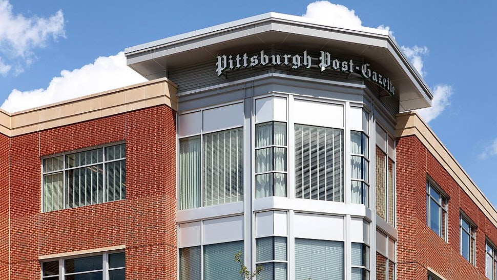 ittsburgh Post-Gazette in Pittsburgh, Pennsylvania on August 26, 2016.