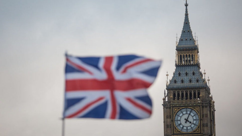 LONDON, ENGLAND - FEBRUARY 01: A Union Jack flag flutters in front of the Elizabeth Tower, commonly known as Big Ben on February 1, 2017 in London, England. The European Union (notification of withdrawal) bill that will trigger article 50 is being debated by MPs over two days. The vote will take place on tomorrow evening. Labour MPs are subject to a three-line whip after Jeremy Corbyn urged his party to vote for Article 50.