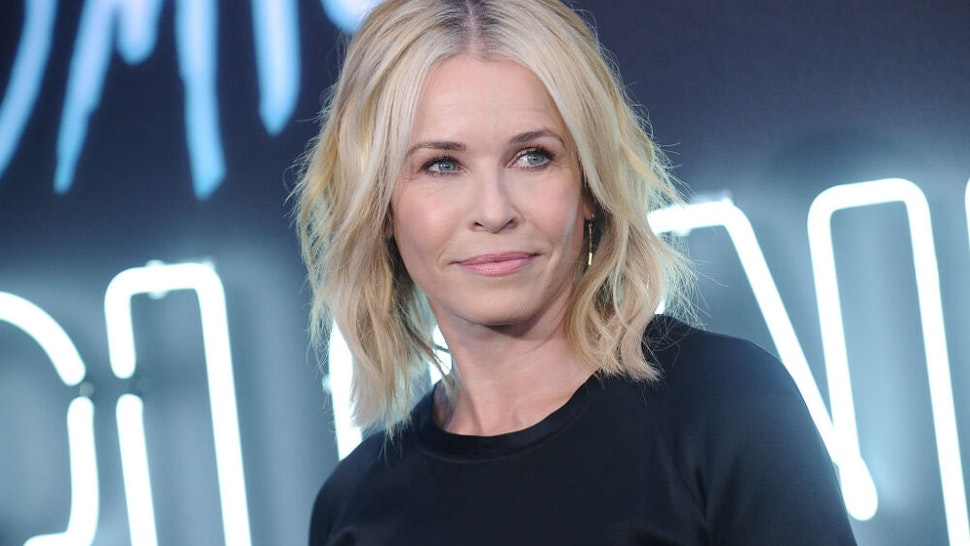 """LOS ANGELES, CA - JULY 24: Chelsea Handler attends the premiere of """"Atomic Blonde"""" at The Theatre at Ace Hotel on July 24, 2017 in Los Angeles, California."""