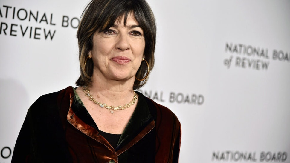 NEW YORK, NY - JANUARY 09: Christiane Amanpour attends the 2018 The National Board Of Review Annual Awards Gala at Cipriani 42nd Street on January 9, 2018 in New York City.