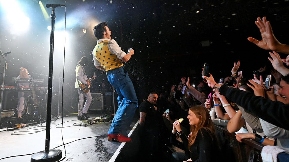 Harry Styles performs for SiriusXM and Pandora in New York City at Music Hall of Williamsburg on February 28, 2020. (Photo by Kevin Mazur/Getty Images for SiriusXM)