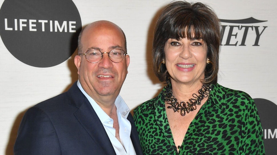 President of CNN Worldwide Jeff Zucker and honoree journalist Christiane Amanpour attendVariety's Power Of Women: New York presented by Lifetime, at Cipriani Midtown on April 5, 2019 in New York City.