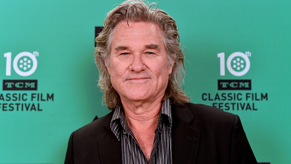 HOLLYWOOD, CALIFORNIA - APRIL 13: Special Guest Kurt Russell attends the screening of 'Escape from New York' at the 2019 TCM 10th Annual Classic Film Festival on April 13, 2019 in Hollywood, California.