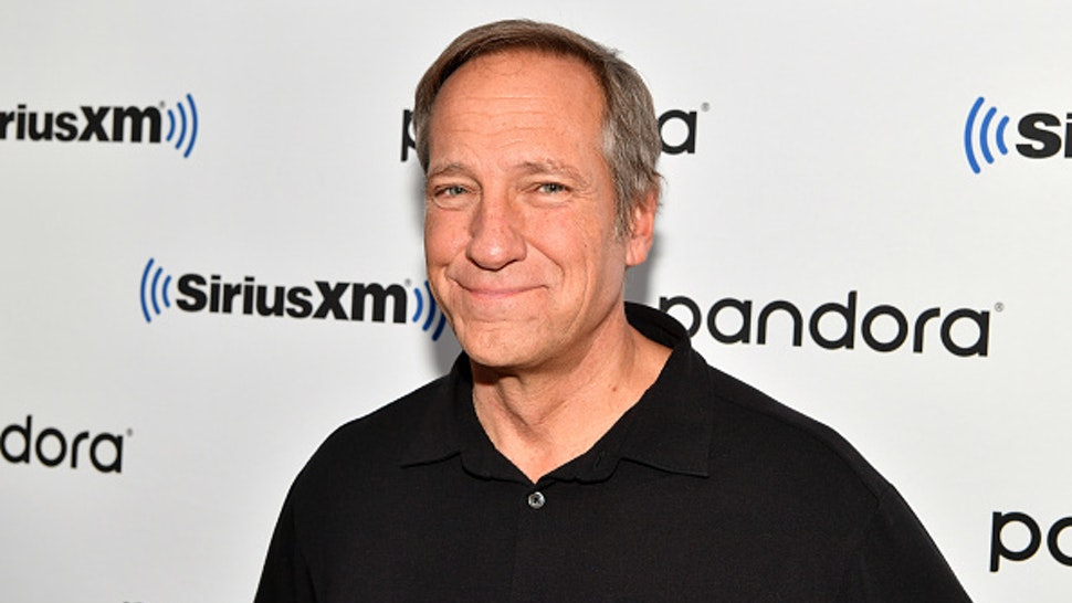 NEW YORK, NEW YORK - JANUARY 10: (EXCLUSIVE COVERAGE) TV host Mike Rowe visits SiriusXM Studios on January 10, 2020 in New York City.