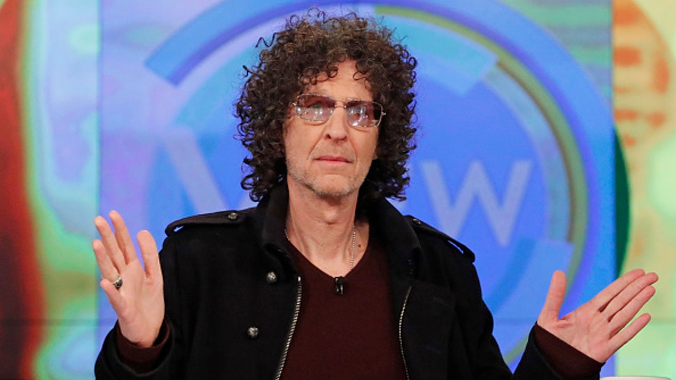 "THE VIEW - Howard Stern is the guest today Thursday, 5/15/19 on Walt Disney Television via Getty Images's ""The View."" ""The View"" airs Monday-Friday (11am-12pm, ET) on Walt Disney Television via Getty Images."