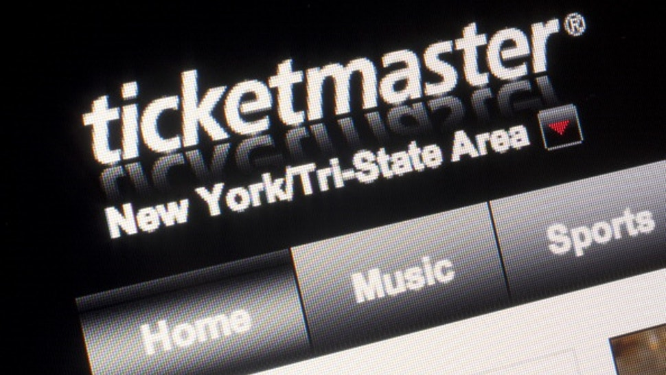 The Ticketmaster Entertainment LLC website is displayed for a photograph in New York, U.S., on Wednesday, Aug. 31, 2011.