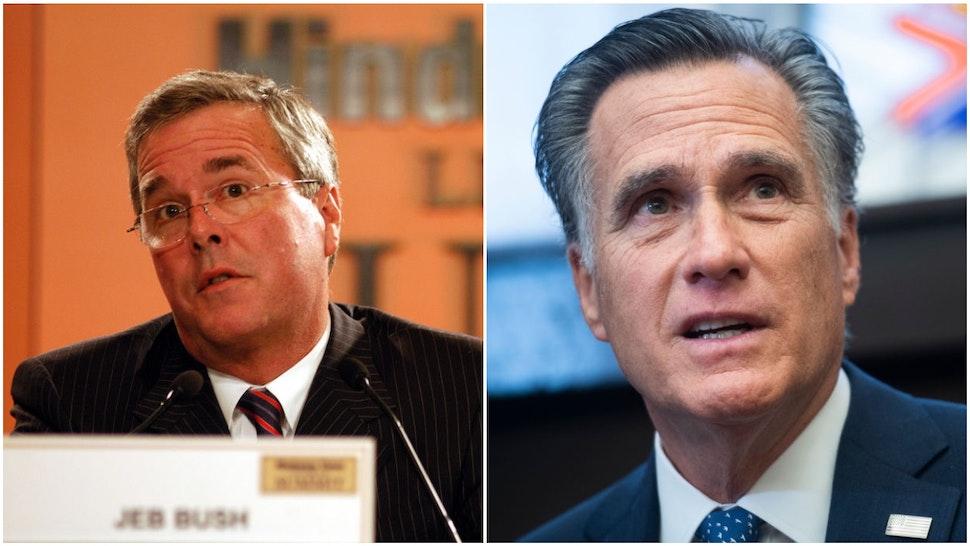 Jeb Bush Mitt Romney