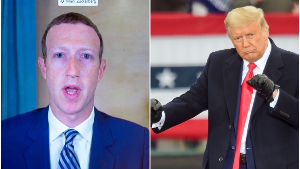Zuckerberg and Trump