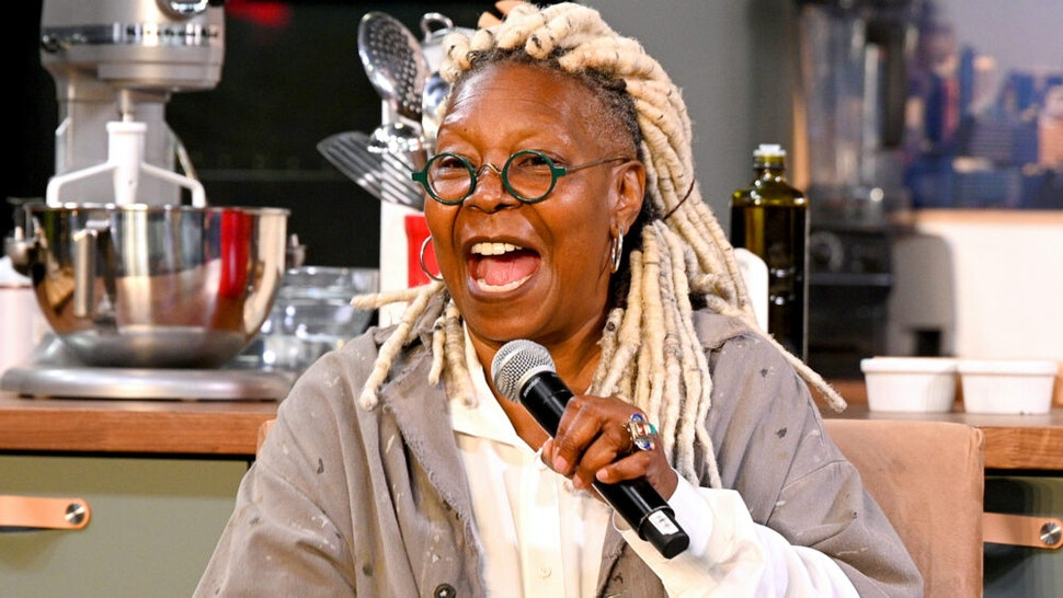 NEW YORK, NEW YORK - OCTOBER 13: Whoopi Goldberg speaks onstage during the Grand Tasting presented by ShopRite featuring Culinary Demonstrations at The IKEA Kitchen presented by Capital One at Pier 94 on October 13, 2019 in New York City.