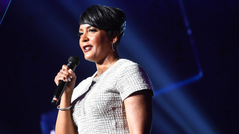 Atlanta Mayor Keisha Lance Bottoms speaks onstage during 2019 Beloved Benefit at Mercedes-Benz Stadium on March 21, 2019 in Atlanta, Georgia.