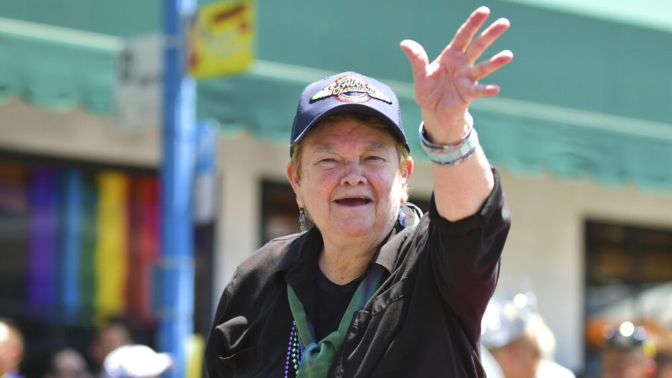 WEST HOLLYWOOD, CALIFORNIA - JUNE 07: Sheila Kuehl at LA Pride 2019 on June 07, 2019 in West Hollywood, California.