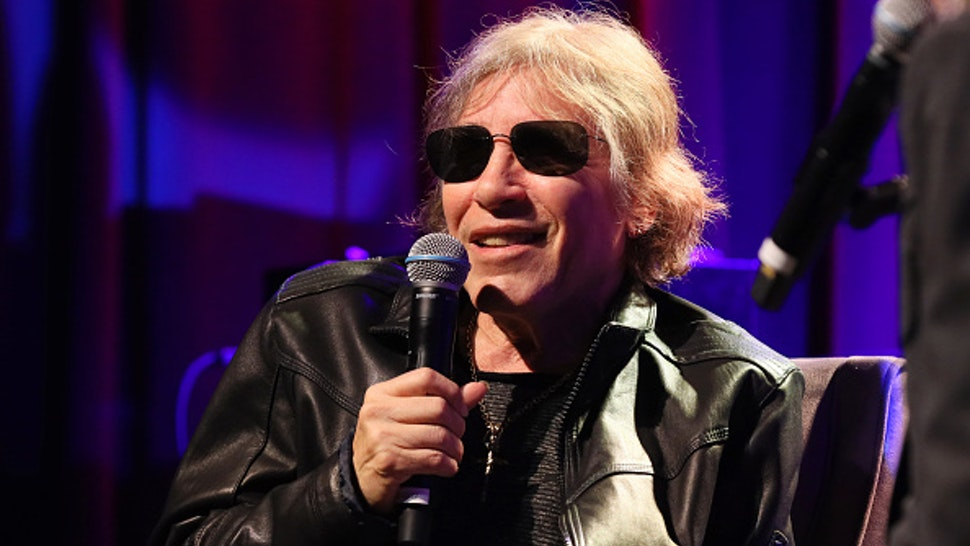 LOS ANGELES, CALIFORNIA - FEBRUARY 11: José Feliciano speaks onstage at An Evening With José Feliciano at the GRAMMY Museum on February 11, 2020 in Los Angeles, California.