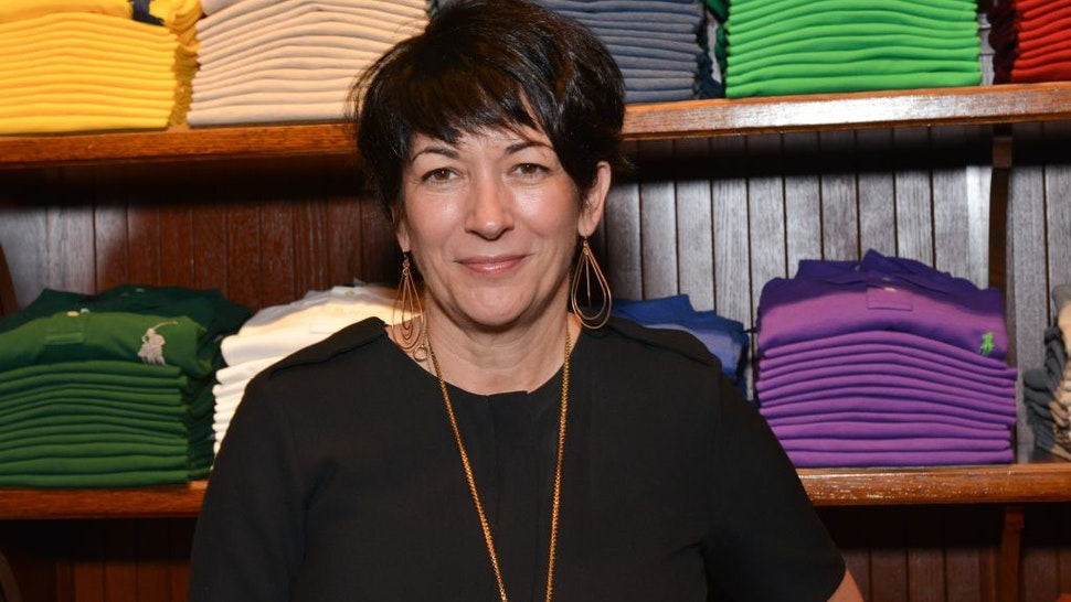 Ghislaine Maxwell attends Polo Ralph Lauren host Victories of Athlete Ally at Polo Ralph Lauren Store on November 3, 2015 in New York City.