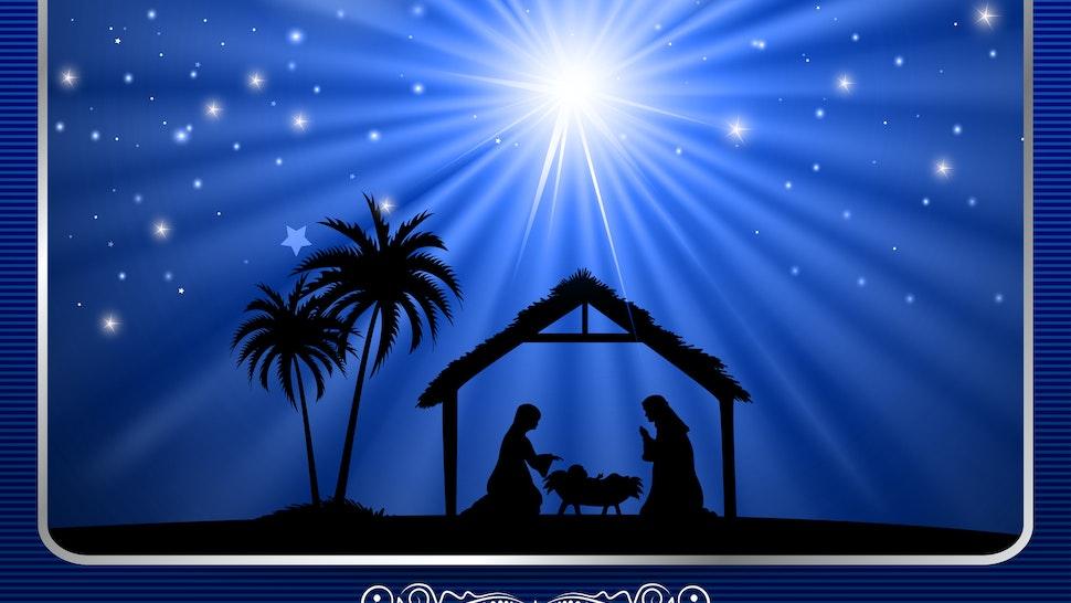 Blue Nativity