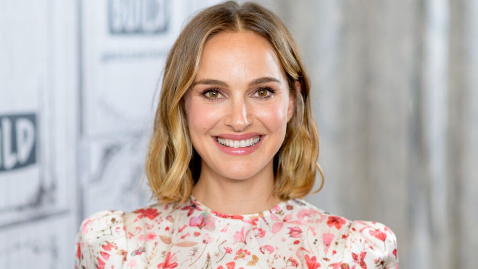 """NEW YORK, NEW YORK - OCTOBER 02: Actress Natalie Portman discusses """"Lucy in the Sky"""" with the Build Series at Build Studio on October 02, 2019 in New York City."""