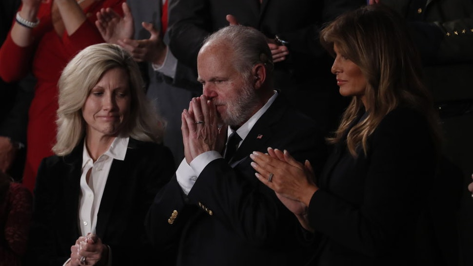 Rush Limbaugh at the State of the Union Address