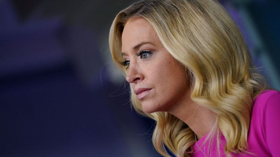 White House Press Secretary Kayleigh McEnany speaks during a press briefing at the White House on December 2, 2020 in Washington, DC.