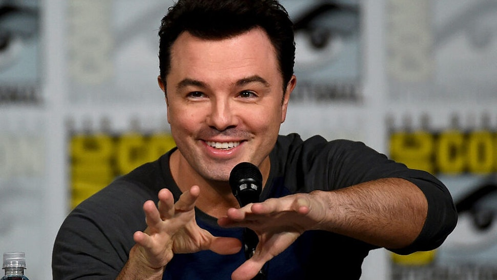 SAN DIEGO, CA - JULY 11: Filmmaker Seth MacFarlane attends the Seth MacFarlane Animation Block panel during Comic-Con International 2015 at the San Diego Convention Center on July 11, 2015 in San Diego, California.