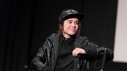 """HOLLYWOOD, CA - DECEMBER 05: Ellen Page speaks onstage during a Q&A following the screening of """"Janis: Little Girl Blue"""" at ArcLight Cinemas on December 5, 2015 in Hollywood, California. (Photo by Emma McIntyre/Getty Images)"""