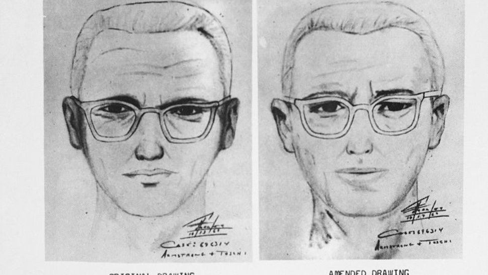 "San Francisco police circulated this composite of the Bay Area's ""Zodiac"" killer."