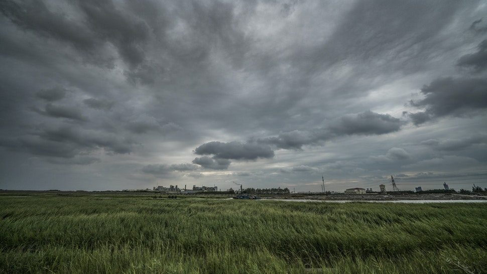 Industry landscape - stock photo