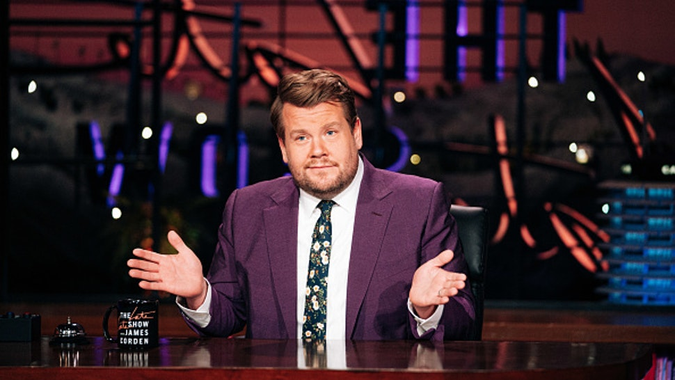 LOS ANGELES - OCTOBER 8: The Late Late Show with James Corden airing Thursday, October 8, 2020, with guest Armie Hammer.
