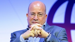 Jeff Zucker, CNN Worldwide President, speaking during Creating a Better Content and Media conference, at the Mobile World Congress on February 26, 2018 in Barcelona, Spain.