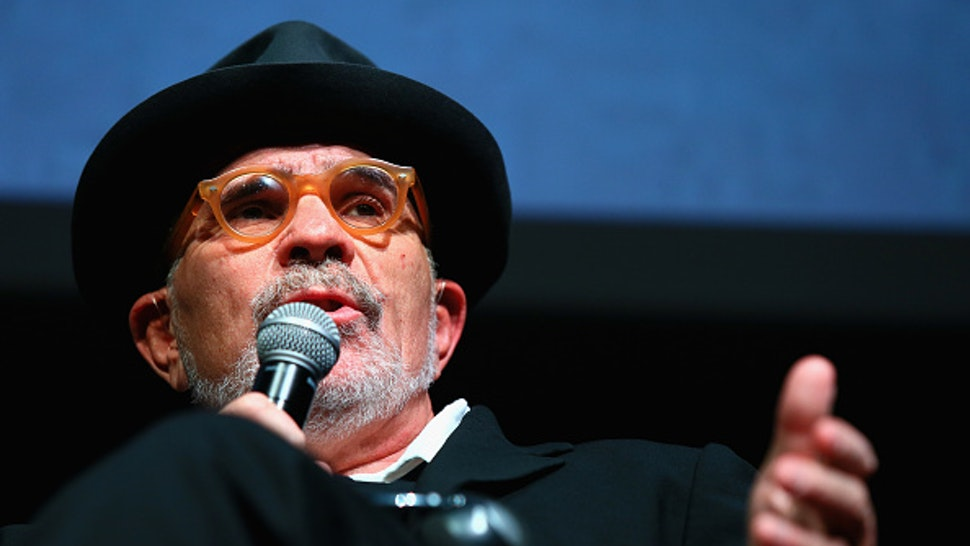 ROME, ITALY - OCTOBER 18: David Mamet meets the audience during the 11th Rome Film Festival at Auditorium Parco Della Musica on October 18, 2016 in Rome, Italy.