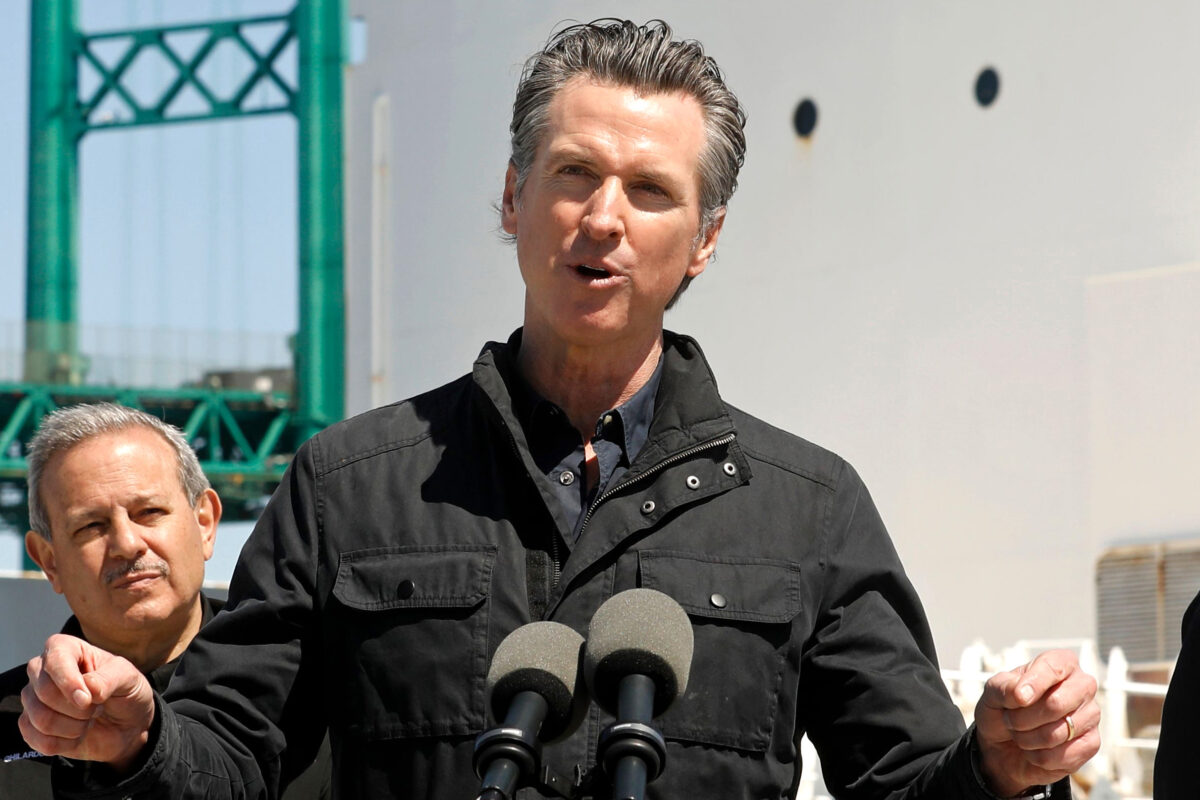 CA Sheriff Slams Newsom: 'Dictatorial' While 'Dining In Luxury, Traveling, Keeping His Business Open'