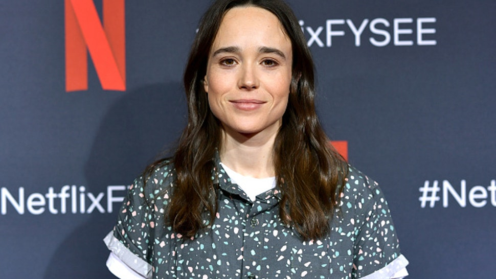 LOS ANGELES, CALIFORNIA - MAY 11: Ellen Page attends Netflix's 'Umbrella Academy' Screening at Raleigh Studios on May 11, 2019 in Los Angeles, California.