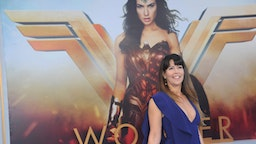 "Director Patty Jenkins arrives for the Premiere Of Warner Bros. Pictures' ""Wonder Woman"" held at the Pantages Theatre on May 25, 2017 in Hollywood, California."