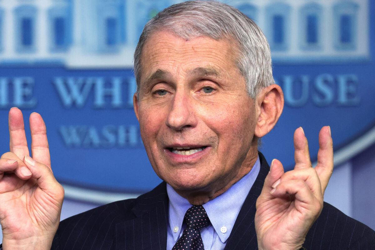 Fauci Refutes CNN Report, Which Came From Biden Sources, That Trump Had No Vaccine Distribution Plan