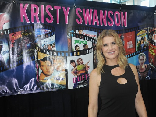 BURBANK, CA - SEPTEMBER 16: Actress Kristy Swanson attends Day 2 of the 2017 Son Of Monsterpalooza Convention held at Marriott Burbank Airport Hotel on September 16, 2017 in Burbank, California.