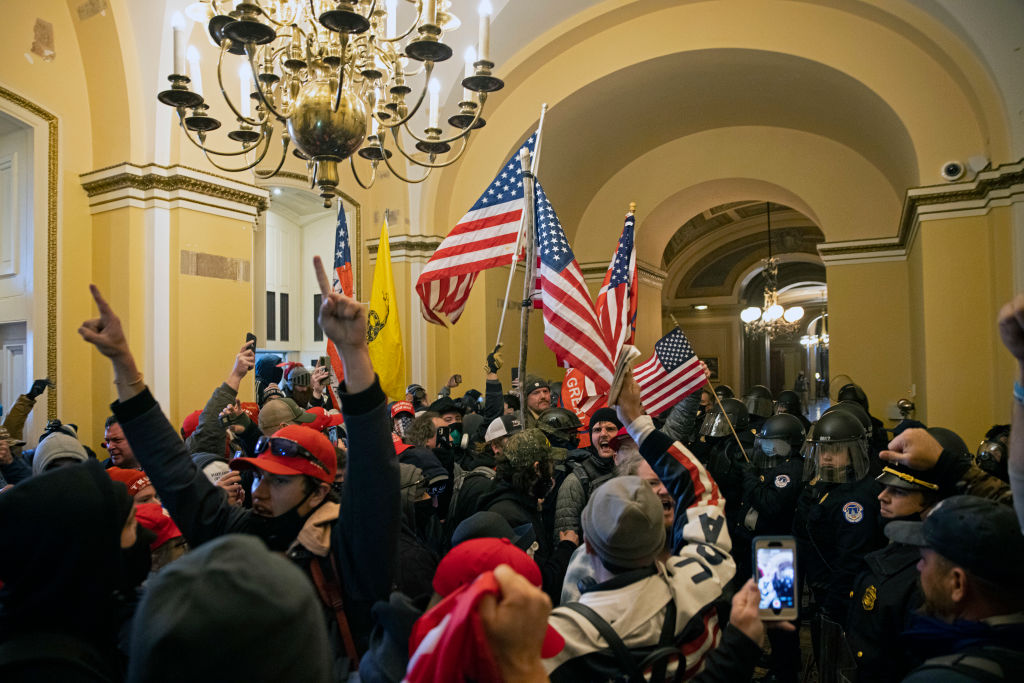 DOJ Seeks 400 More Capitol Rioters, Expect To Charge Some With Sedition
