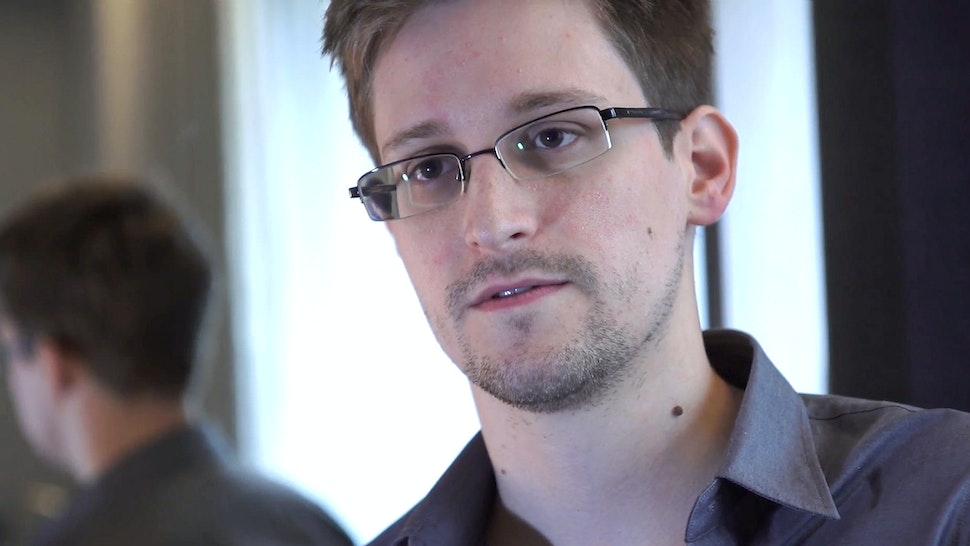 Edward Snowden speaks during an interview in Hong Kong. Snowden, a 29-year-old former technical assistant for the CIA, revealed details of top-secret surveillance conducted by the United States' National Security Agency regarding telecom data.