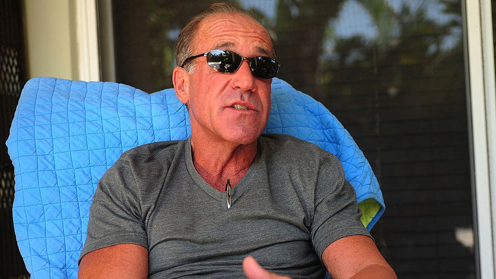 """Francis W. """"Frank"""" Biden, the younger brother of Vice President Joe Biden, talks about a white powder scare that took place at his Ocean Ridge, Florida home on Sunday, October 2, 2011. (Joe Cavaretta/Sun Sentinel/MCT)"""