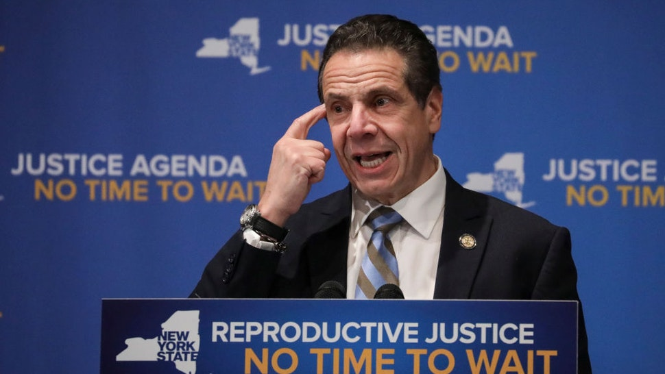 Gov. Cuomo And Hillary Clinton Make Announcement On Reproductive Justice In NY